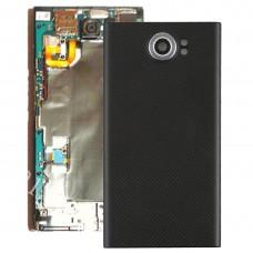 Back Cover with Camera Lens for Blackberry Priv (EU Version)(Black)