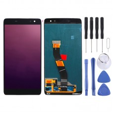 LCD Screen and Digitizer Full Assembly for Alcatel Idol 4s OT6070 / 6070k / 6070y / 6070 (Black)
