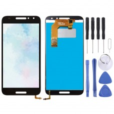 LCD Screen and Digitizer Full Assembly for Alcatel A3 5046 / 5046D / 5046X / OT5046 (Black)