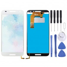 LCD Screen and Digitizer Full Assembly for Alcatel A3 5046 / 5046D / 5046X / OT5046 (White)