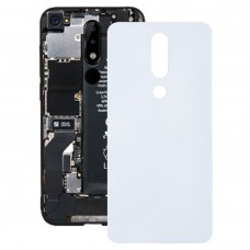 Back Cover for Nokia 5.1 Plus (X5)(White)