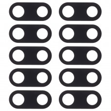 10 PCS Back Camera Lens Cover for Nokia 3(Black)