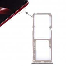 2 x SIM Card Tray + Micro SD Card Tray for OPPO A3(Blue)