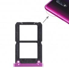 2 x SIM Card Tray for OPPO R17(Purple)