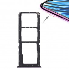 2 x SIM Card Tray + Micro SD Card Tray for OPPO A7x(Purple)