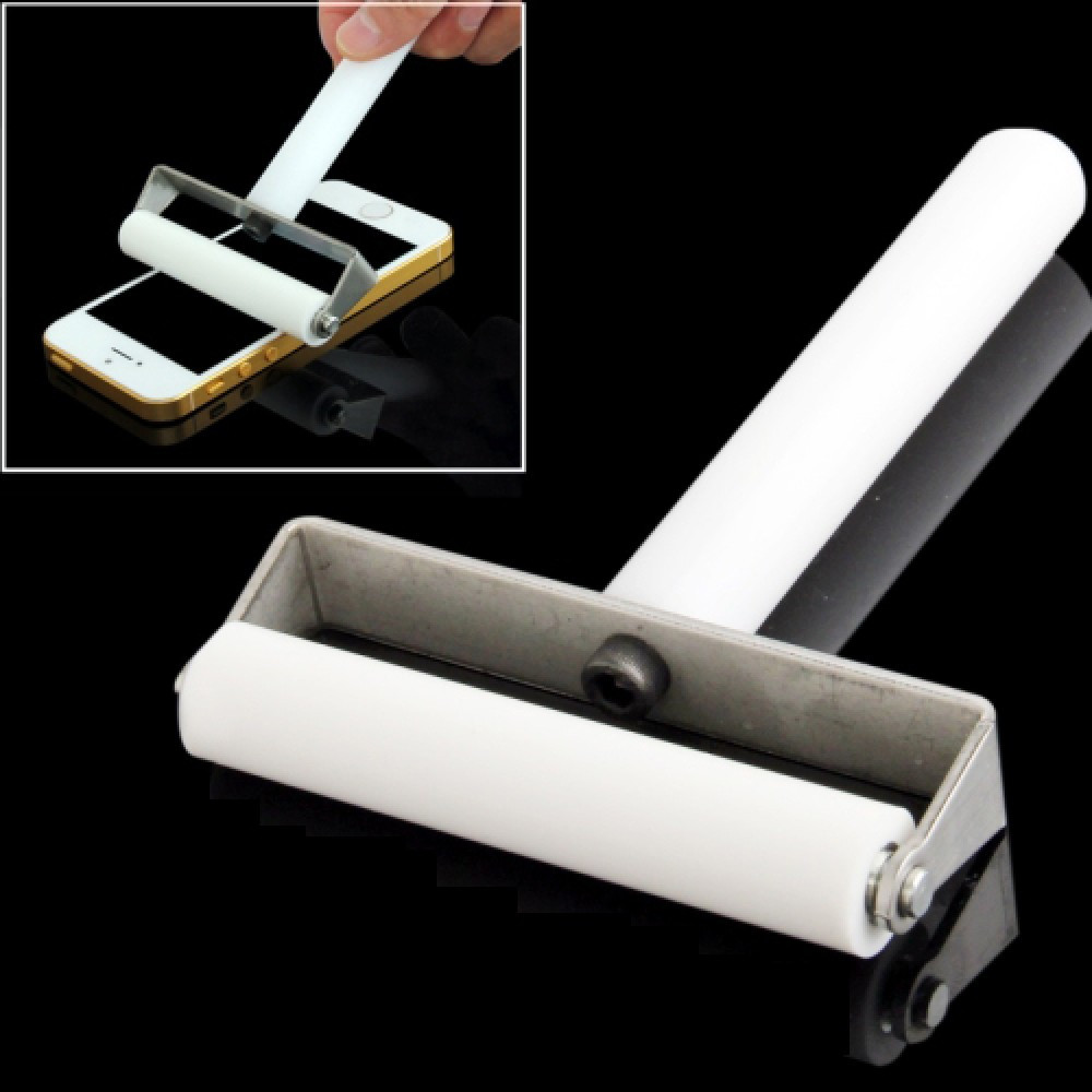 7cm Manual Dust Remove Silicone Roller for iPhone / Galaxy S III / i9300 / S III mini / i8190 / S IV / i9500 / S IV mini / i9190 / i9192(White)
