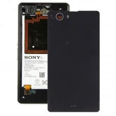 Battery Cover for Sony Xperia Z1 Mini(Black)