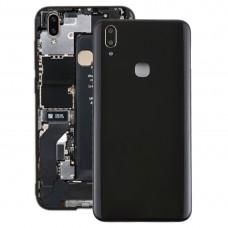 Back Cover with Camera Lens Side Keys for Vivo Y85(Black)