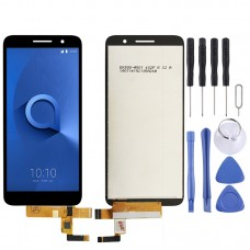 LCD Screen and Digitizer Full Assembly for Alcatel 1 / 5033 / 5033A / 5033J / 5033X / 5033D / 5033T(Black)