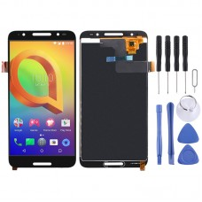 LCD Screen and Digitizer Full Assembly for Alcatel A3 Plus 5011 OT5011 OT5011A (Black)