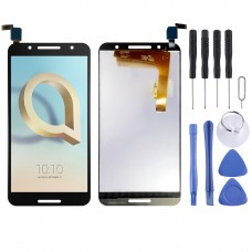 LCD Screen and Digitizer Full Assembly for Alcatel A7 / 5090 / 5090Y / 5090A (Black)