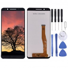 LCD Screen and Digitizer Full Assembly for Alcatel 3X / 5058 / 5058A (Black)