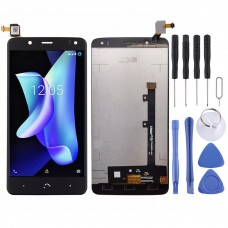 LCD Screen and Digitizer Full Assembly for BQ Aquaris  U2 U2 Lite(Black)