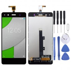LCD Screen and Digitizer Full Assembly for BQ Aquaris A4.5(Black)