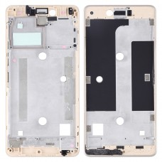 Front Housing LCD Frame Bezel Plate for BQ Aquaris U Lite(Gold)