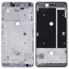 Front Housing LCD Frame Bezel Plate for BQ Aquaris U Plus(Black)