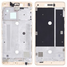 Front Housing LCD Frame Bezel Plate for BQ Aquaris U Plus(Gold)