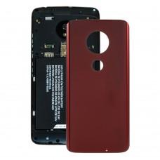 Battery Back Cover for Motorola Moto G7 Plus(Red)
