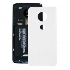 Battery Back Cover for Motorola Moto G7 (White)