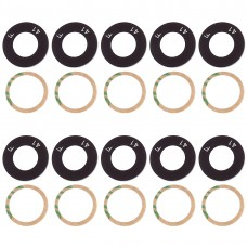 10 PCS Back Camera Lens & Adhesive for OPPO Realme 1