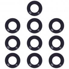 10 PCS Back Camera Lens for OPPO A83