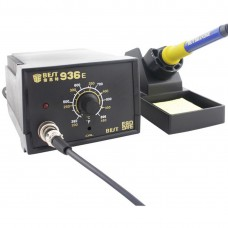 BEST BST-936E AC 220V Thermostatic Soldering Station Anti-static Electric Iron, China Plug(Black)