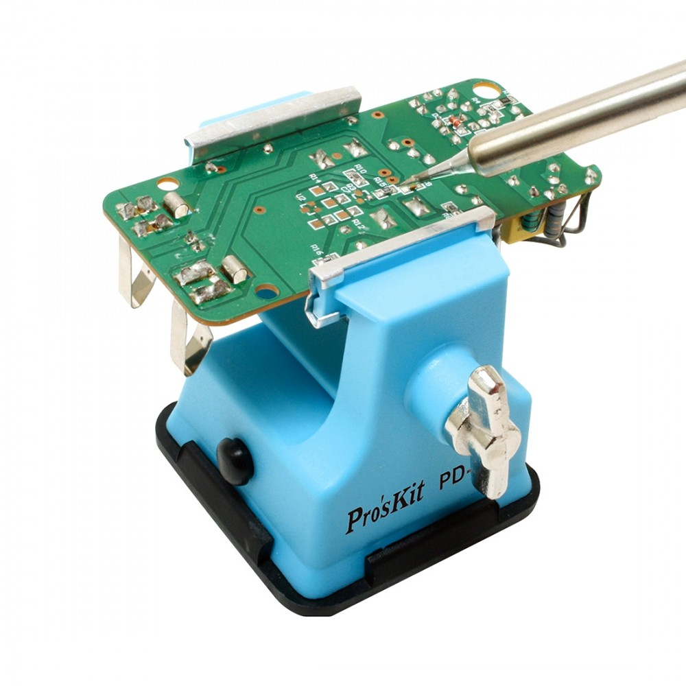 Proskit PD-372 Mini Table Vice, Maximum Opening Diameter: 25mm