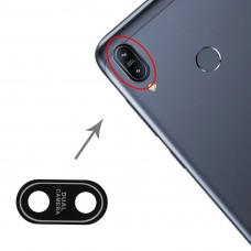 Back Camera Lens for Asus Zenfone Max (M2) ZB633KL / ZB632KL X01AD