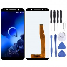 LCD Screen and Digitizer Full Assembly for Alcatel 3L 5034D 5034 (Black)