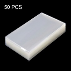 50 PCS OCA Optically Clear Adhesive for Nokia 6 TA-1000 TA-1003 TA-1021 TA-1025 TA-1033 TA-1039
