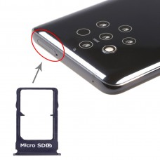 SIM Card Tray + Micro SD Card Tray for Nokia 9 PureView(Blue)