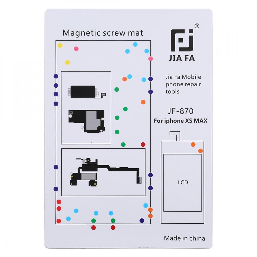 JIAFA JF-870 Magnetic Pad Screw Board for iPhone XS Max
