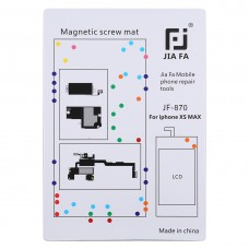 JIAFA JF-870 Magnetic Pad Screw Board for iPhone XS Max