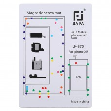 JIAFA JF-870 Magnetic Pad Screw Board for iPhone XR