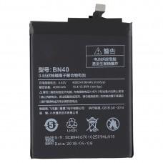 4000mAh Li-Polymer Battery BN40 for Xiaomi Redmi 4 Prime
