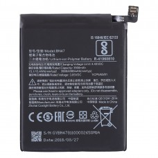 3900mAh Li-Polymer Battery BN47 for Xiaomi Redmi 6 Pro