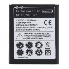 1900mAh Replacement Battery for Galaxy SIII mini / i8190