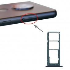 SIM Card Tray + SIM Card Tray + Micro SD Card Tray for Nokia 7.2 / 6.2 TA-1196 TA-1198 TA-1200 TA-1187 TA-1201(Green)