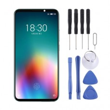 Original OLED Material LCD Screen and Digitizer Full Assembly For Meizu 16T