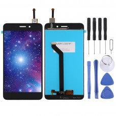 LCD Screen and Digitizer Full Assembly for Vernee M5 (Gold)