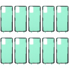 10 PCS Back Housing Cover Adhesive for Samsung Galaxy S20+