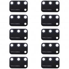 10 PCS Back Camera Lens for Huawei Honor 9A