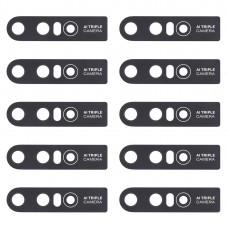 10 PCS Back Camera Lens for Vivo S1 / V15 (Black)