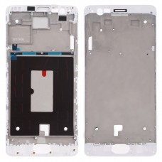 Front Housing LCD Frame Bezel Plate for OnePlus 3 (White)
