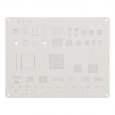 Kaisi A-11 IC Chip BGA Reballing Stencil Kits Set Tin Plate For iPhone X / 8 / 8 Plus