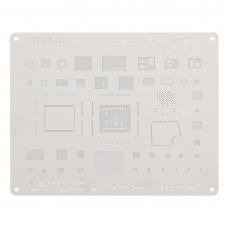 Kaisi A-13 IC Chip BGA Reballing Stencil Kits Set Tin Plate For iPhone 11 / 11 Pro / 11 Pro Max