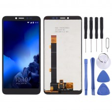 LCD Screen and Digitizer Full Assembly for Alcatel 1V 2019 / 5001 (Black)