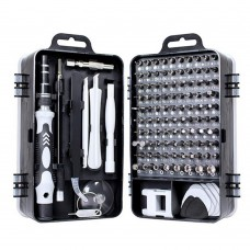 115 in 1 Precision Screw Driver Mobile Phone Computer Disassembly Maintenance Tool Set(Black)