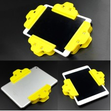 10 PCS Mobile Phone Tilting Fixed Clip Flat Touch Screen Adhesive Clip (Random Color Delivery)