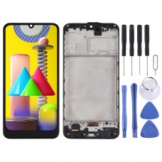 LCD Screen and Digitizer Full Assembly with Frame for Samsung Galaxy M31 (Black)